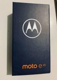 Título do anúncio: Moto E20 32gb novo