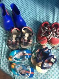Vendo sapato de meninos