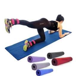 Título do anúncio: Tapete  Yoga Pilates Fitness Ginastica 170x60cm em Promoção | @inoutatacrejobrasil