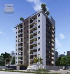 Apartamento com 3 dormitórios à venda, 85 m² por R$ 359.990 - Cabedelo/PB