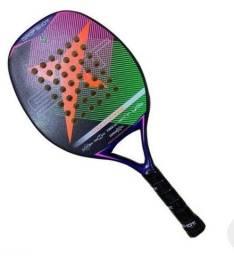 Título do anúncio: Vendo Raquete Beach tênis nova