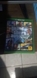 Título do anúncio: Jogo GTA 5.  Xbox one S