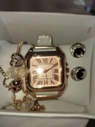 Kit relógios feminino