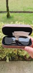 Título do anúncio: Óculos De Sol Chilli Beans Aviador Verde Skull