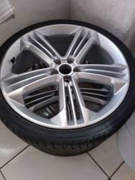 Jogo de rodas aro 20 4 pneu novo