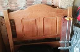 Título do anúncio: Cama madeira maciça solteiro