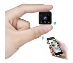 Mini Câmera Espiã Wi-fi Bateria Hd 1080p Sem Fio Mycam