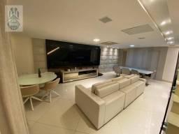 Título do anúncio: Apartamento na cobertura á venda, com 4 dormitórios, 6 vagas à venda, 260 m² por R$ 1.700.