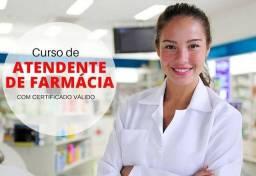Título do anúncio: CURSO DE ATENDENTE DE FARMÁCIA + CURSO OPERADOR DE CAIXA + CURSO DE ATENDENTE DE LOJA.