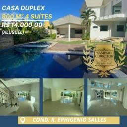 Mansão Cond. residencial Ephigenio Salles 800M²