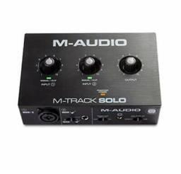 Placa de Audio M-Audio M-Track Solo