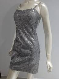 Título do anúncio: Vestido curtinho com brilho