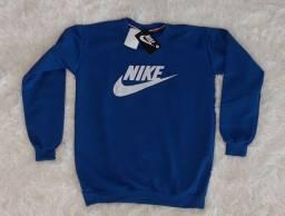 Título do anúncio: Blusa Moletom Flanelado Nike Masculina - Azul