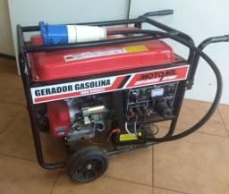 Gerador de Energia á Gasolina modelo MGG-8000CLE Motomil