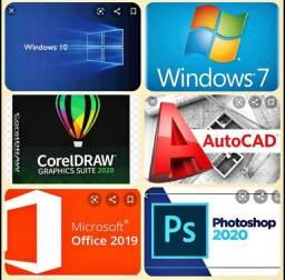 Softwares atualizados