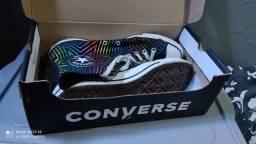 Converse All Star Pride Preto Unissex Tam 40