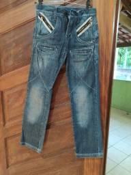 Título do anúncio: Calça Zune jeans tamanho 10 anos