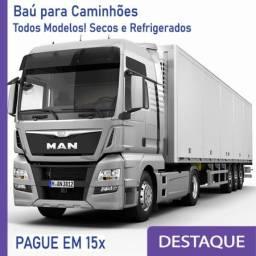 Título do anúncio: Baú Refrigerado e Baú Seco para Caminhão Modelo Anos 2012... E 381