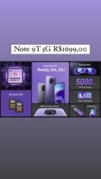 Celular Note 9T 5g