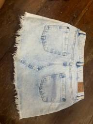 Título do anúncio: Saia jeans cea tamanho 40