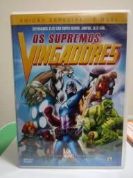 Os Supremos Vingadores DVD Duplo.