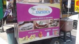 Título do anúncio: Alugo ponto com o carrinho de tapioca