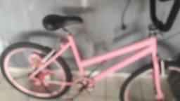 Vendo biki na cor rosa