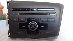 Auto Rádio Honda Civic 2013 , 2014 original.