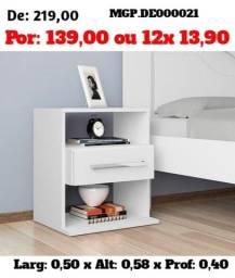 Mesa de Cabeceira - Criado- Quarto - Dormitorio- Super Liquidação Campo Grande