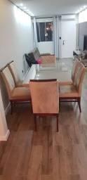 Conjunto mesa 6 cadeiras