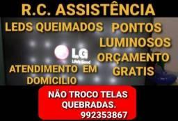Título do anúncio: TVs. CONSERTOS.  TVs LG, PANASONIC, 4KS, SMARTS, SAMSUNG,  VARIAS MARCAS.  FALE COMIGO