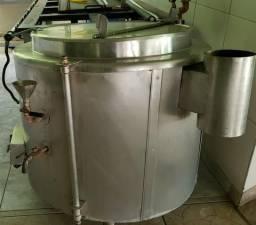 Cozinha industrial - Caldeirão em Inox - Panelão Industrial