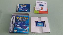 Pokémon Saphire Game Boy Advance Original Americano Completo