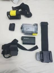 Câmera De Ação Hdr-as15 Sony (semi-nova) com acessórios (DF)