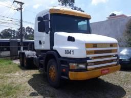 Scania t 124 420 ano 2001 unico dono - 2001