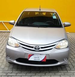Natal Multimarcas - Etios 1.5 XS Sedan - Garantia de Fábrica - 2017