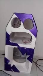 Caixa de médio e caixa de corneta