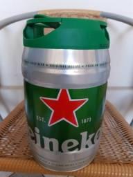 Barril da Heineken vazio