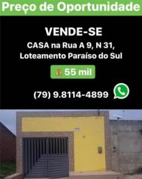 Casa á venda - Lot. Paraíso do Sul