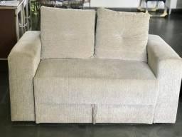 Vendo sofá cama estofado em perfeita condições