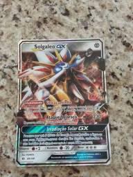 Carta Pokémon GX rara ( tamanho gigante )