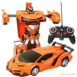Carrinho Transformers Robô de Controle Remoto