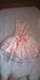 Vestido infantil festa Petit Cherie