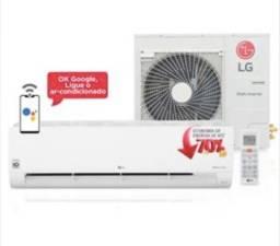 (Novo)Ar Condicionado Split LG DUAL Inverter Voice 32000 Btu/h Quente/Frio (na caixa)