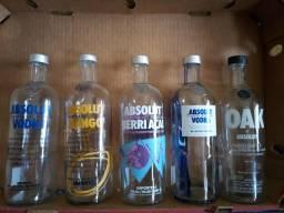 Coleção Garrafas Vodka Absolut Vazias