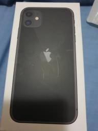 Iphone 11 64gb completo sem detalhes na garantia