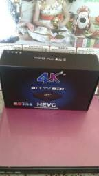 TV BOX Ultra HD 4K, para transformar sua TV em Smart TV, muito barato, aproveite.