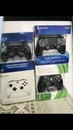 Lacrado, controle do Xbox One PS4, passo no cartao