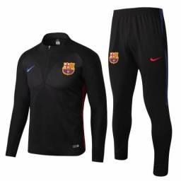 Agasalho Nike Barcelona Lançamento Exclusivo - TAMANHO: G - GG - PRONTA ENTREGA