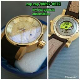 8f0ede66f68 Relógio invicta Yakuza automático novo na caixa